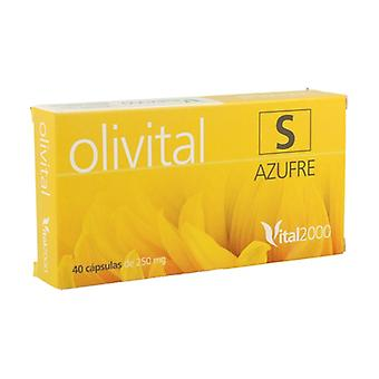 Olivital 7 Sulfur 50 capsules