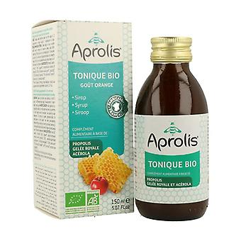 Orgaaninen siirappi Tonic: Hunaja, Propolis, Royal Jelly 150 ml