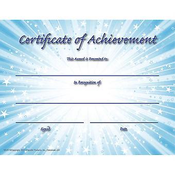 "Certificate Of Achievement, 8.5"" X 11"", Pack Of 30 Flpva707"