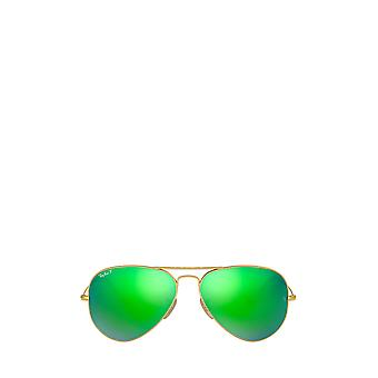 راي بان RB3025 غير لامع arista النظارات الشمسية للجنسين