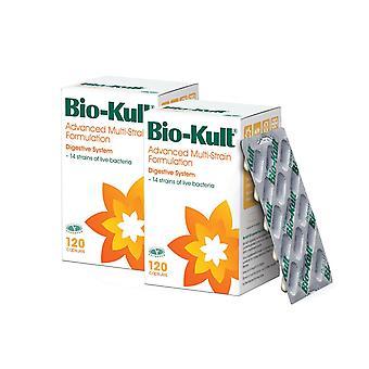 Protexin Bio-Kult Probiotics Digestion IBS 120 Capsules (2 Pack - 240 Caps)