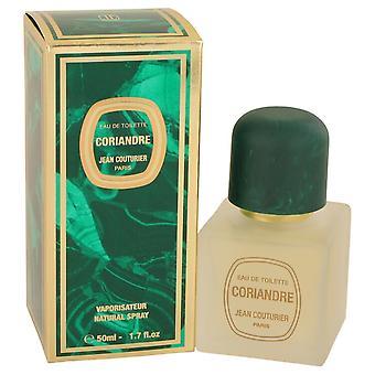 CORIANDRE by Jean Couturier Eau De Toilette Spray 1.7 oz / 50 ml (Women)