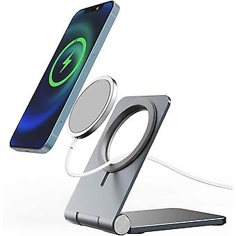 Stand for Magsafe Charger, FACEVER Adjustable Charging Station Dock for iPhone 12 Pro Max