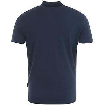 Armani Exchange Sustainable Polo Shirt - Navy
