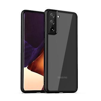 IPAKY Samsung Galaxy S21 TPU Hybrid Shell - Black