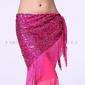 Belly Dance Costumes Mesh Sequins Tassel Belly Dancing Belts
