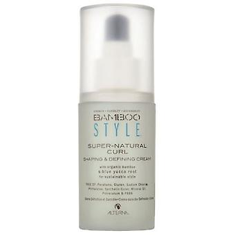 Alterna Haircare Bamboo Style Super-Natural Curl Shaping & Defining Cream 125ml