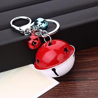 Multicolours Bell Key Chain Ring Car Bags Pendant Christmas Gift Decoration