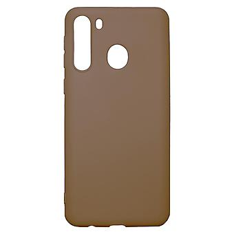 Ultra-Slim Case compatible with Samsung Galaxy A21 | In Brown |