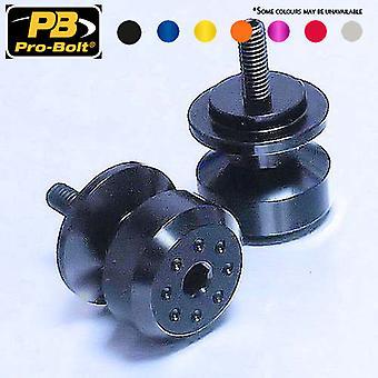 Bob6 (paquete) BOB6 del soporte de paddock del par de aluminio de perno Pro