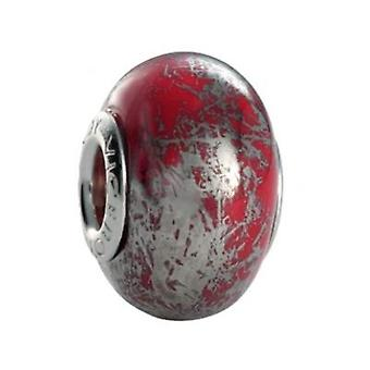 Ladies'Beads Viceroy VMM0124-17 Red Silver (1 cm)