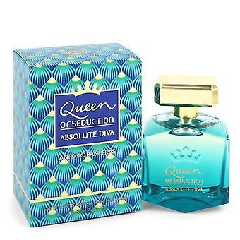 Queen Of Seduction Absolute Diva Eau De Toilette Spray By Antonio Banderas 2.7 oz Eau De Toilette Spray