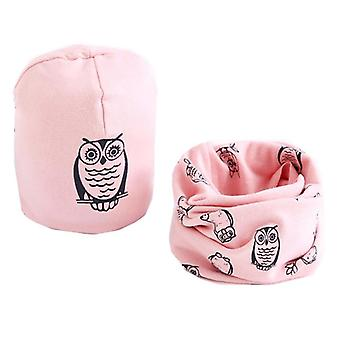 Children Hat Scarf Collar Sets