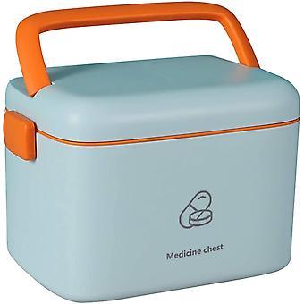 AIWEIYER Medical Box Storage Box First Aid Kit-Family First Aid Box Portable Diagnostic Medicine Box