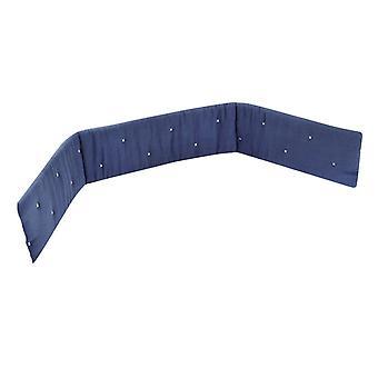الأزرق تيترا القطن سرير الوفير