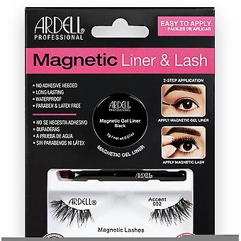 Ardell Magnetic Liner & Lash accent Delineador + 2 Pestañas