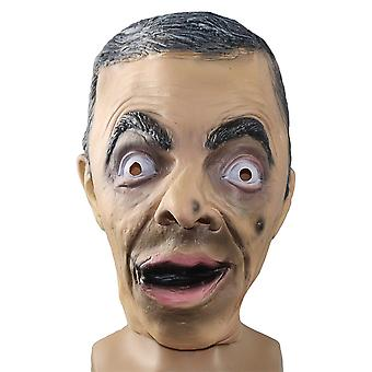 Halloween Funny Spoof Mask Mr.bean Cosplay Props