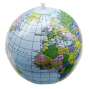 1kpl 30cm puhallettava World Globe -karttapallo