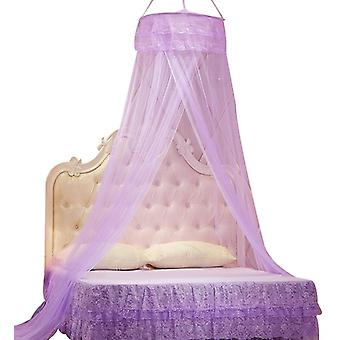 Princess Does Not Need To Install Encrypted Heightening Ceiling Dome Mosquito Net