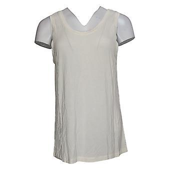 عناق دودس المرأة الأعلى Softwear قابل للعكس سكوب طاقم دبابة العاج A293078