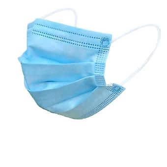 10-100pcs Fast Safety Dust Face Mask, Disposable Protective Non-woven Masks