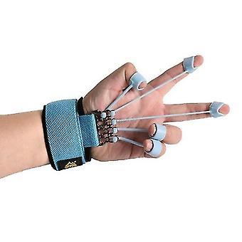 Finger gripper styrke træner extensor motioner finger fleksion og udvidelse træning enhed med modstand band