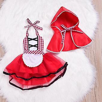 Vastasyntynyt Cosplay Baby Punainen Tutu Mekko