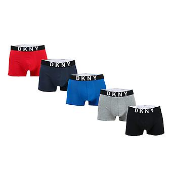 Mannen DKNY Walpi 5 Pack Boxershorts in andere