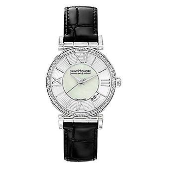 Saint Honore Analog Quartz Watch for Women with Leather Strap 7520121YRN
