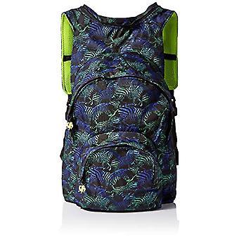 MorikukkoMorikukko Hooded Backpack Kool Zebra Neon YellowUnisex - AdultZainiMulticolore (Zebra Neon Yellow)33x8x40 Centimeters Ref. 8682328760754