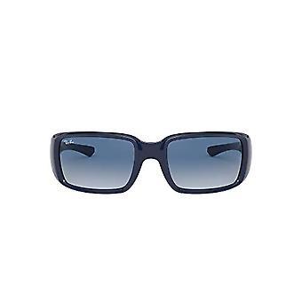 Ray-Ban Brille, blau/blau nuanciert, 59/20/125 Unisex-Erwachsene