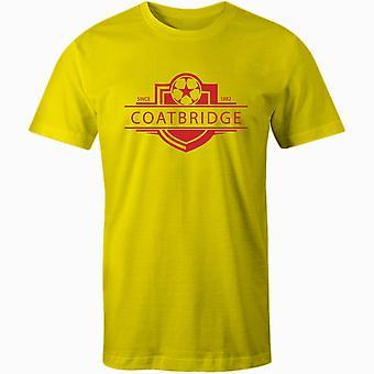 Albion rovers 1882 etableret badge fodbold t-shirt