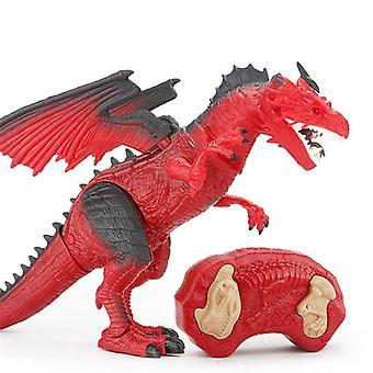 RC Dinosaur Intelligent Real Life rc Animal Toy Spray Flame Dinobot Toys |RC Animals
