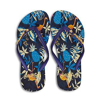 BeachyFeet Womens/Ladies Flamenco Flip Flops