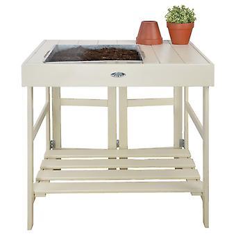 Esschert Design Istutuspöydät Valkoinen