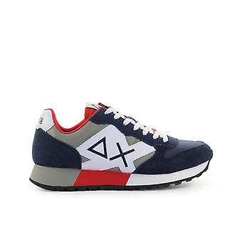 Sun68 Jaki Bicolor Navy Blue Sneaker