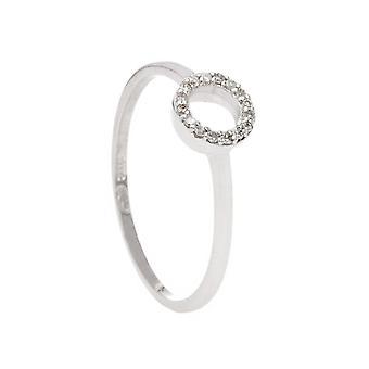 Ring 'Pretty Bubble' Vitt guld och diamanter