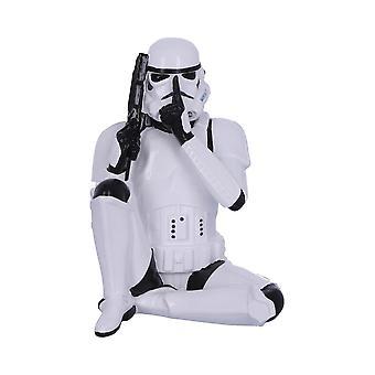 Speak No Evil Stormtrooper Figura