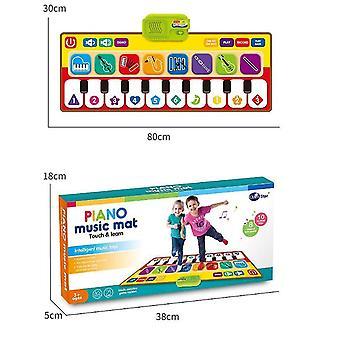Kinder musikalische Matten E-Piano-Tastatur-Tanzboden Touch Playmat dt5091