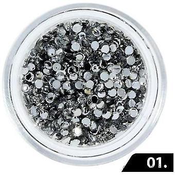 Zircon sten (Glas) - 1,5 mm - 200 stk - 01