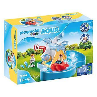 Playset 1,2,3 Aquatic Carrousel Playmobil 70268 (8 pcs)