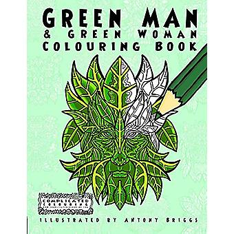 Green Man and Green Woman - Colouring Book by Complicated Colouring -