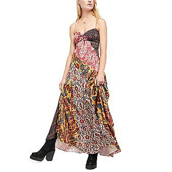 Free People Womens Holiday Hero Maxi Dress