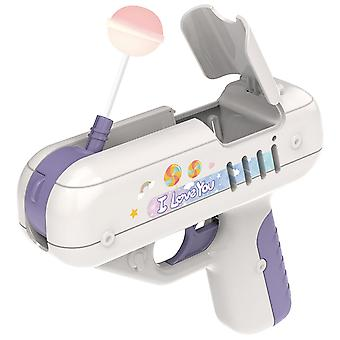 Candy Surprise Lollipop Gun Same Creative Gift For Boy Friend Children Toy Girl Friend Gift(Purple)