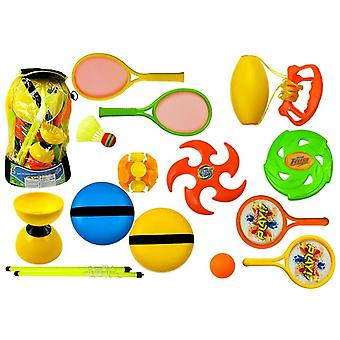 Spielzeug Frisbee und Diabolo Set