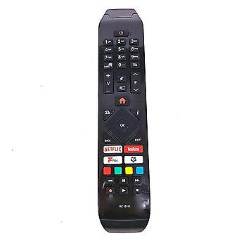 Telecomenzile inlocuieste rc43141 pentru telecomanda tv hitachi 24hb21t65u 32hb26t61ua 43hb26t72u 43hk25t74u cu butoanele de fplay netflix youtube