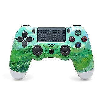 Wireless Ps4 Game Controller Compatible With Ps4/slim/pro Console-camouflage Green