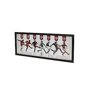 Liverpool FC Top Goal Scorers Framed Picture