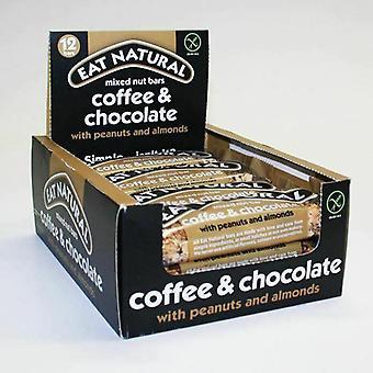 Mangez du café naturel et du choc, des arachides et des amandes 45g x12 - 2019