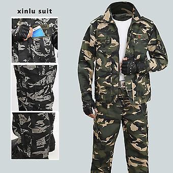 Muži maskovací oblek venkovní teplé zimní lov taktické vojenské
